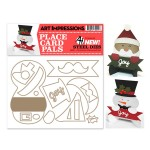 AI - Christmas Placecard die set