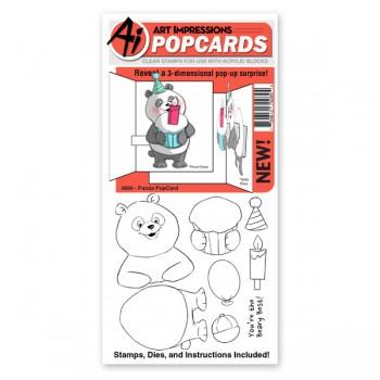 AI - Panda Pop Card