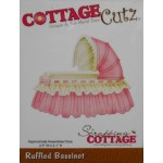 Cottage Cutz Ruffled bassinet