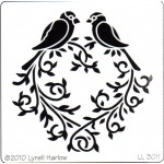 Lovebirds Heart