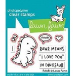 Lawn Fawn RAWR Stamps and RAWR Dies