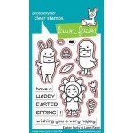 Lawn Fawn Easter Party Stamps and Easter Party Dies