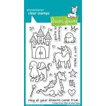 Lawn Fawn Critters Ever After Stamps and matching Dies