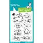 Lawn Fawn Happy Easter stamps
