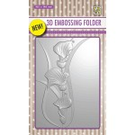 3D embossing folder Arums