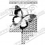 Cling Butterfly pattern