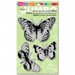 Cling Jumbo Butterfly trio