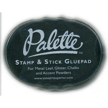 Stamp & Stick glue pad black
