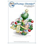 Whimsy Stamps Bart Loves Christmas