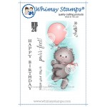 Whimsy Stamps Kitty Balloon
