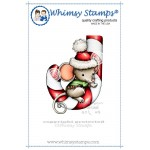 Whimsy Stamps Mousey Candy Cane