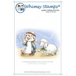 Whimsy Stamps Penguin Shepherd