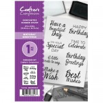 Crafters Companion Birthday Greetings