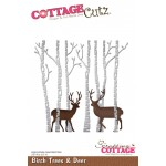 CC Birch Trees & Deer