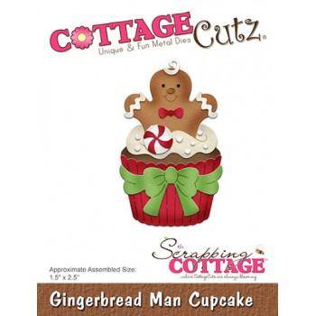 CC Gingerbread man Cupcake