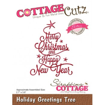CC Holiday Greetings Tree