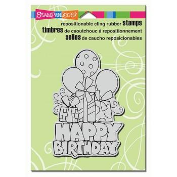 Cling Chunky Birthday