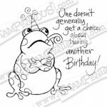 Birthday Toad