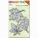 Stampendous Jumbo Leaves stamp set