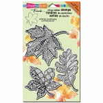Stampendous Pen Pattern Leaves set