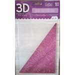 3D Embossing Folder Floral Fusion