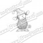 Cling Santa Mouse