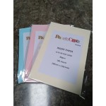 Card insert paper PINK