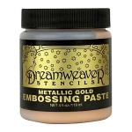 Gold embossing paste