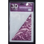 3D Embossing Folder Regency Swirls