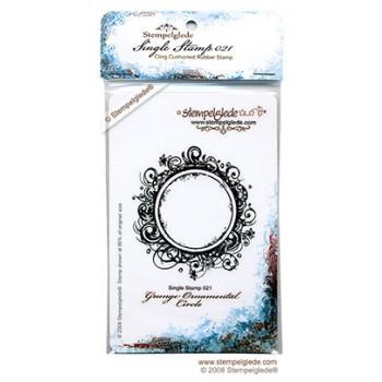 Grunge Ornamental Circle