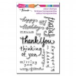 Stampendous Happy Messages stamp set