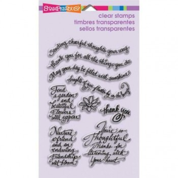 Stampendous Thoughtful Wishes