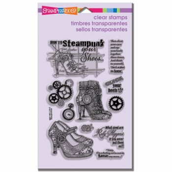 Stampendous Steampunk Shoes