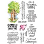 Stampendous Forest Sayings set