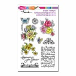 Stampendous Floral Charms set