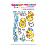 Stampendous Rubber Duckies set