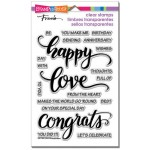 Stampendous Big Words Happy