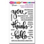 Stampendous Big Words Thanks