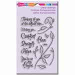 Stampendous Encouraging Words stamp set