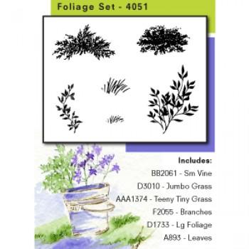 AI - Foliage stamp set