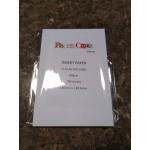 Card insert paper WHITE
